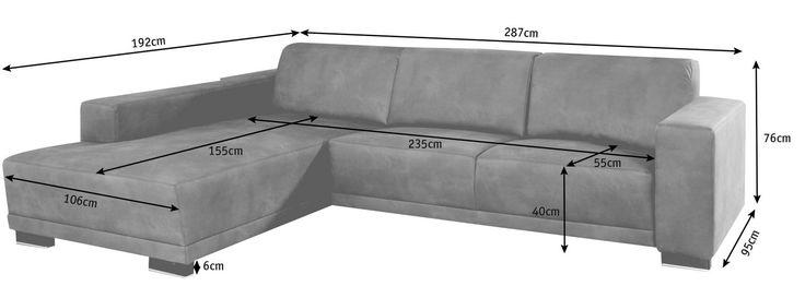 WOHNLANDSCHAFT Braun, Grau Mikrofaser - Wohnlandschaften - Polstermöbel - Wohnzimmer - Produkte