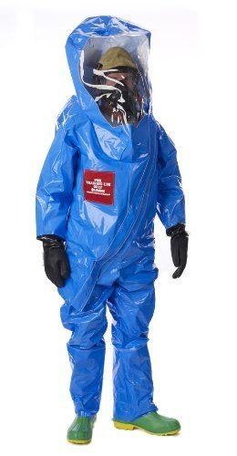 Lakeland Interceptor TES Front Entry Level A Disposable Training Suit, 2X-Large, Blue nice