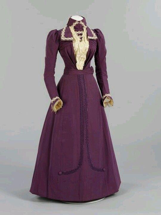 19th century wedding dresses | Wedding dress 1899 | 19th Century fashion
