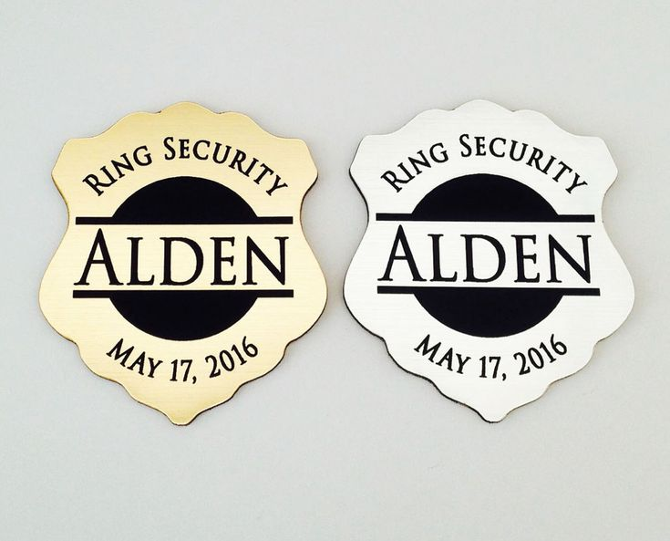 Ring Security, Ring Bearer Gift, Ring Bearer Security Badge, Personalized Ring Bearer Badge, Groomsmen Gifts, Wedding Gift by crimsonking on Etsy https://www.etsy.com/listing/266963240/ring-security-ring-bearer-gift-ring