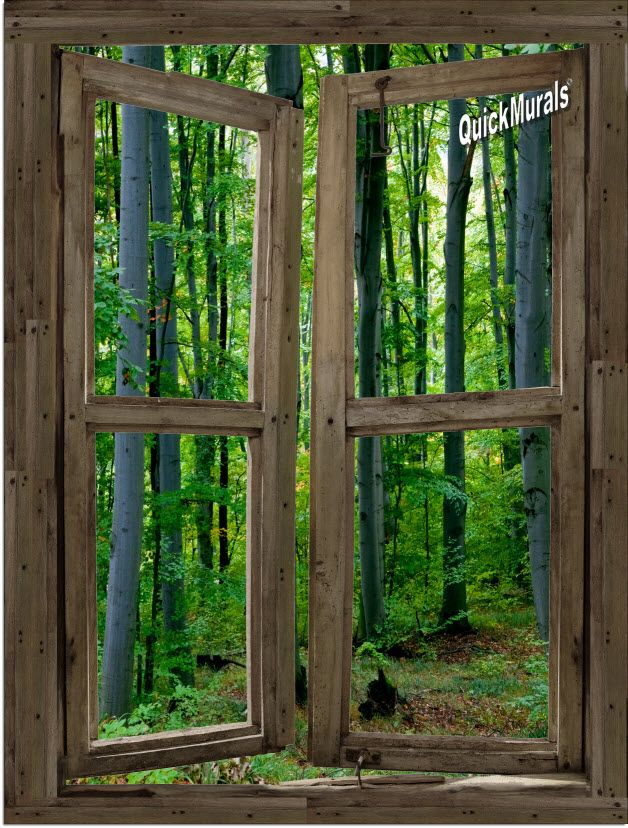 Fake Windows For Walls : Best images about realistic faux window add a