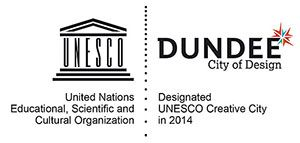 UNESCO - Dundee City of Design logo