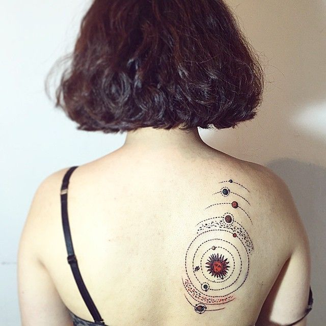 138 best images about Space Tattoos on Pinterest | Solar