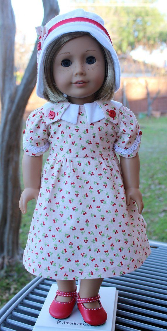 "Doll Clothe 18/"" Shoes Pink and White Polka Dot Cloth Slip On Fits 18/"" AG Dolls"