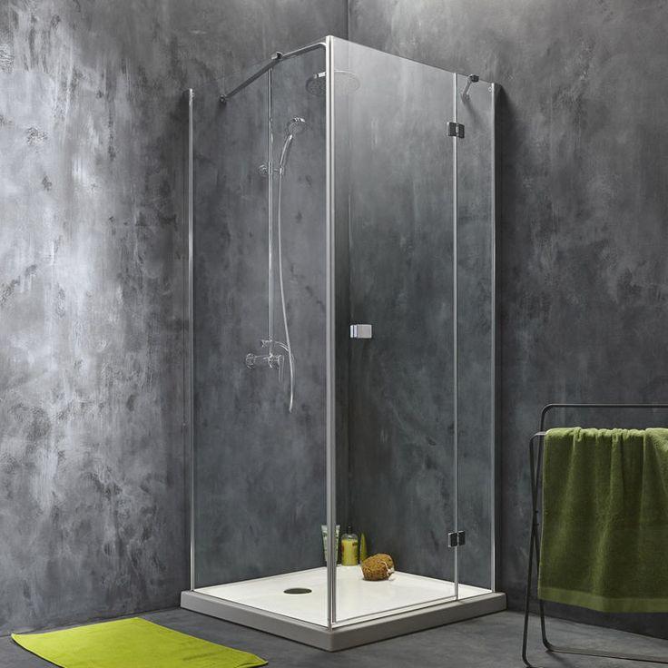 10 meilleures id es propos de porte de douche pivotante sur pinterest por - Leroy merlin bac de douche ...