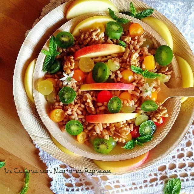 In Cucina con Mamma Agnese: Stuzzicheria d'Orzo con frutta e verdura 🌱
