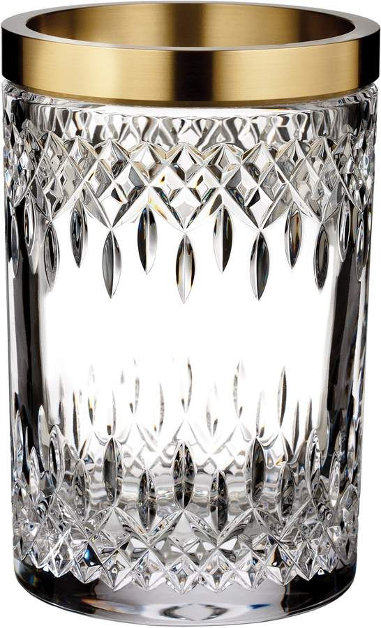 Waterford Lismore Reflection 8 Inch Lead Crystal Vase Crystal Vase Waterford Crystal Waterford Lismore