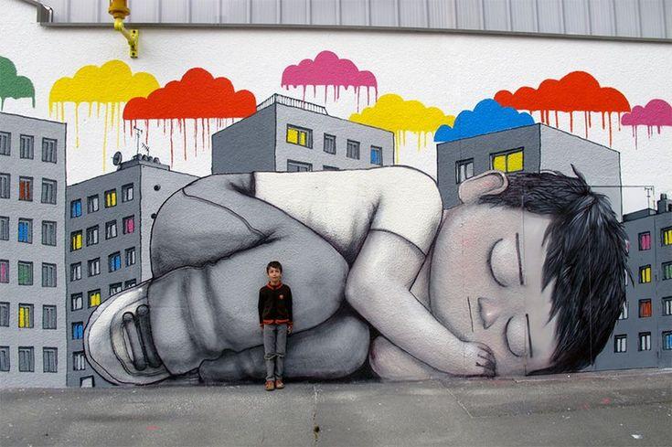 Cultura Inquieta - Street Art de Malland, alias Seth                                                                                                                                                                                 Más