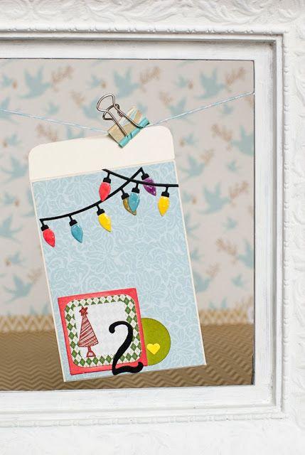 12 Días, día 2! #Sobres, #tag, #etiqueta, #tarjetas, #cards, #scrapbooking, DIY