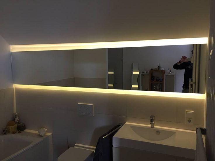 die besten 25 beleuchteter spiegel ideen auf pinterest spiegeleitelkeit schminke eitelkeiten. Black Bedroom Furniture Sets. Home Design Ideas