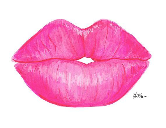 Labios de beso por KaraAshleyShreeve en Etsy