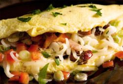 Omelette Fillings Recipe September 06, 2011 Omelette Photo : Jackie Cameron Interesting Fillings For An Omelette In the Hartford House kitchen, I impress upon all that an order should take as long as the eggs take to cook. A good few hours are spent preparing for this important meal and I believe an aspiring chef should spend his / her first month on the breakfast shift because it teaches precision, speed and the importance of maintaining a high standard. No one wants a badly fried egg first…