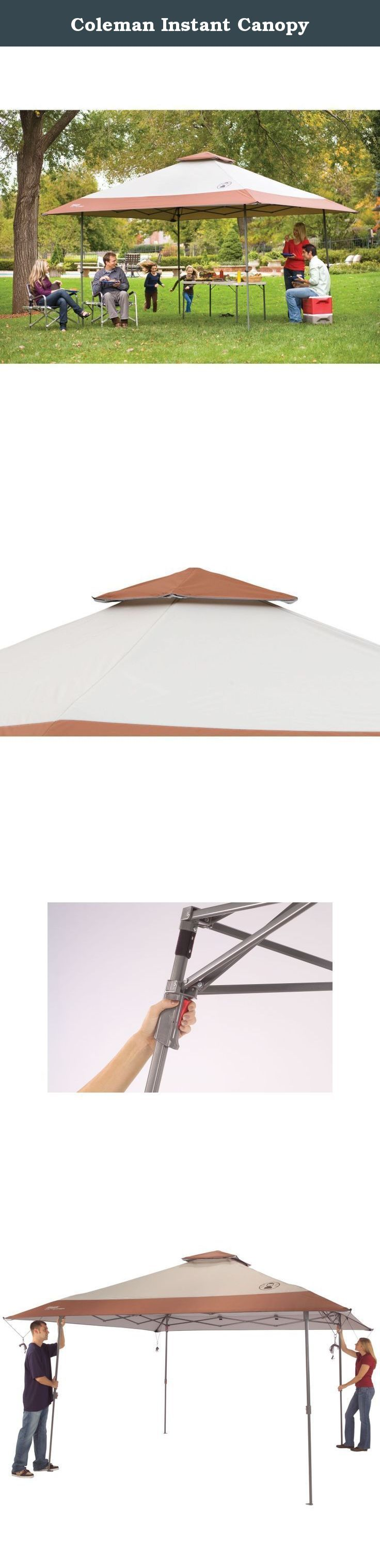 Coleman Instant Canopy.