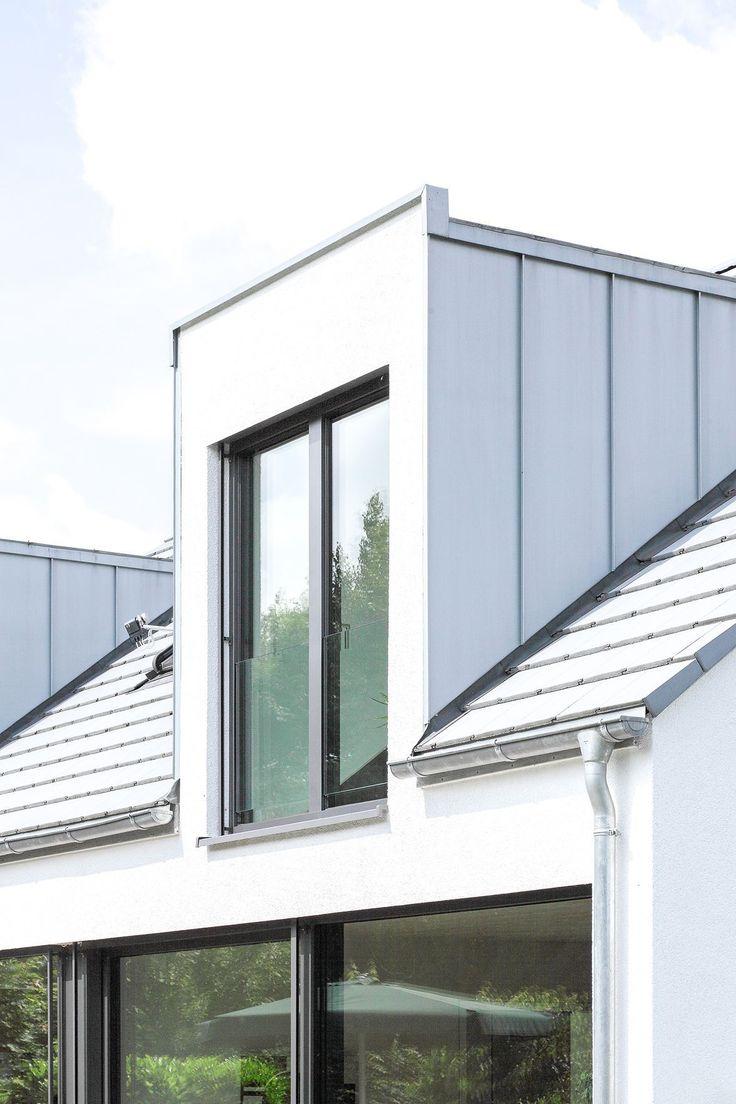 Designhäuser mit klaren Details