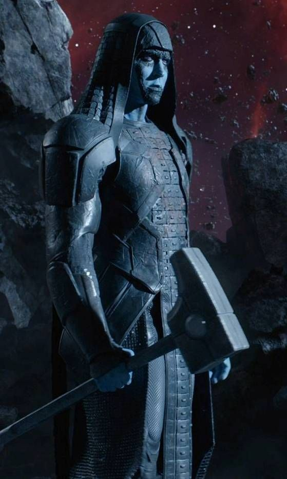 "Ronan the Accuser played by Lee Pace. Introduced in the 2014 film ""Guardians of the Galaxy."""