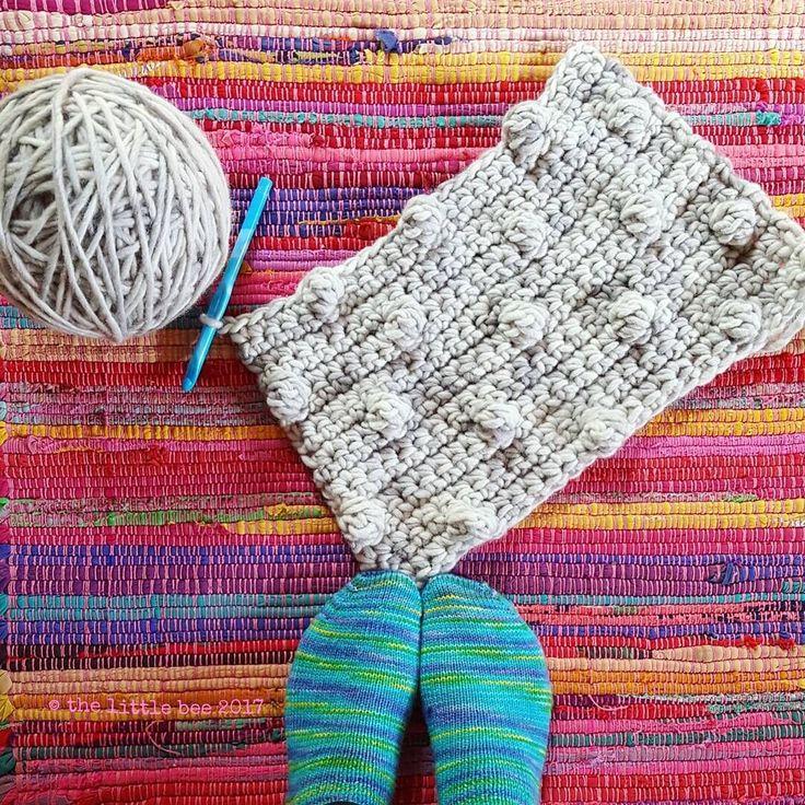 Crochet Bobblicious Caplet