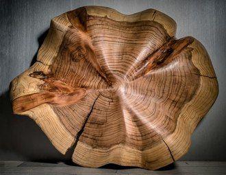 """Stéphane Derozier ~ """"Fleur de Séquoïa"""" ~ Wood Sculpture *"""