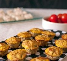 Recette - Mini bouchées au thon et à la moutarde - Notée 4/5 par les internautes
