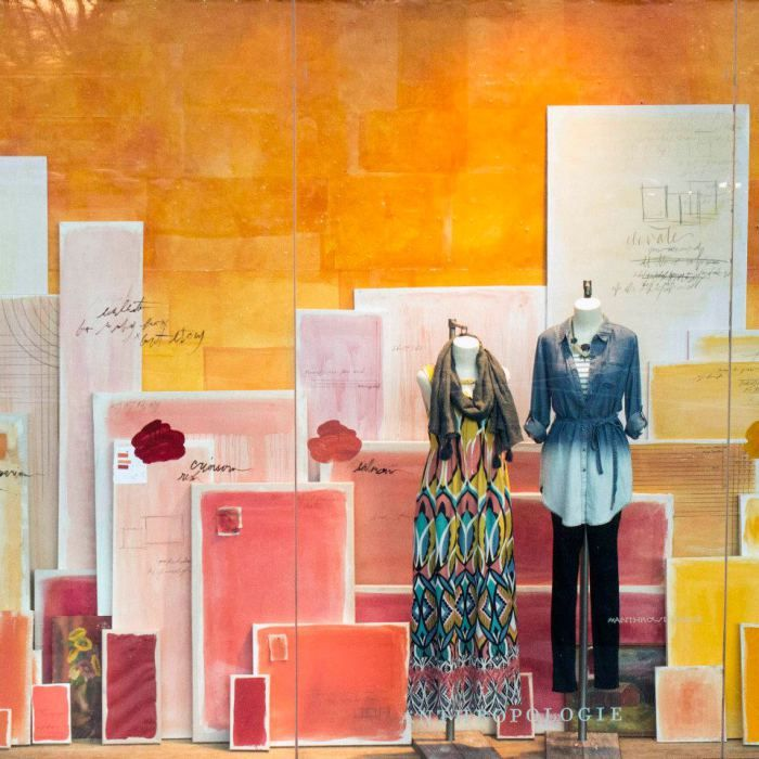 Anthropologie Spring Windows 2015 | International Visual