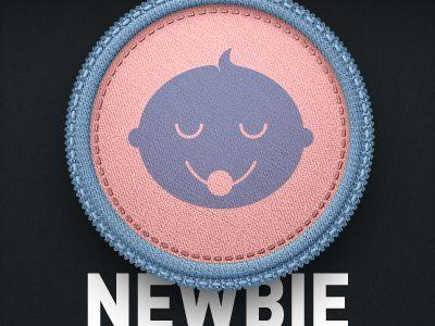Newbie badge by Paul
