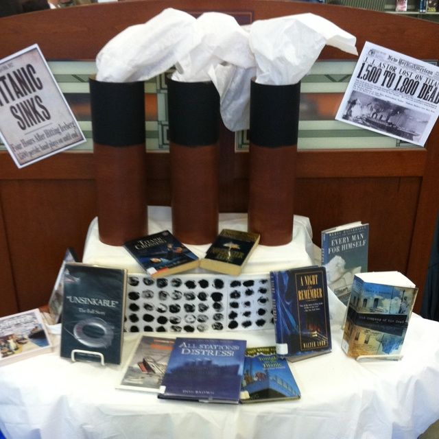 Titanic display 2012 (100 year Anniversary)