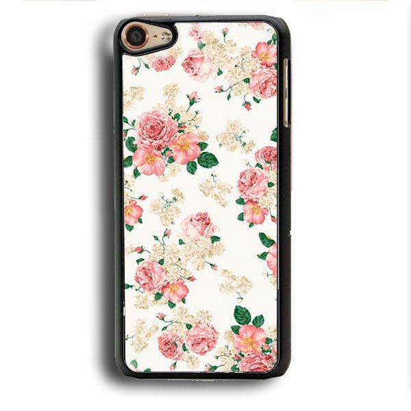 Pink Carnations Floral iPod Touch 6 Case | Aneend