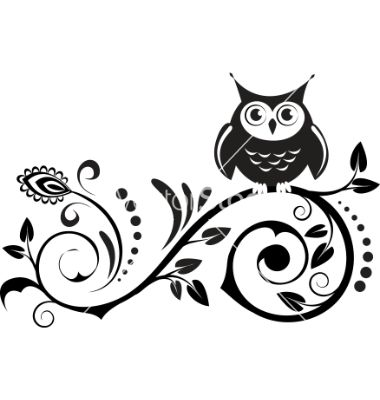 Cute owl vector 596994 - by ColorValley on VectorStock®