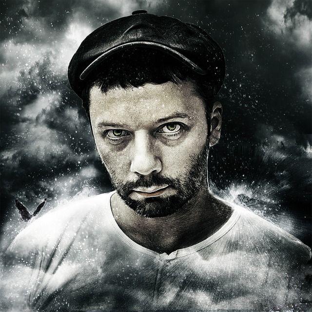 男, 男性, バート, キャップ, 肖像画, 顔, 目, 人 - Pixabayの無料画像