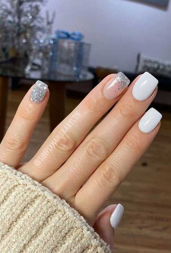 Short Nails Short Nail Art Short Nail Designs Gel Nails Acrylic Nails Ombre Nails Short Nails 2020 Nail Ar In 2020 Dipped Nails Short Acrylic Nails Simple Nails
