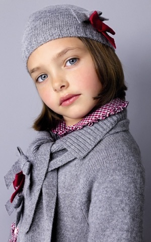 Pretty in grey. #kids #fashion