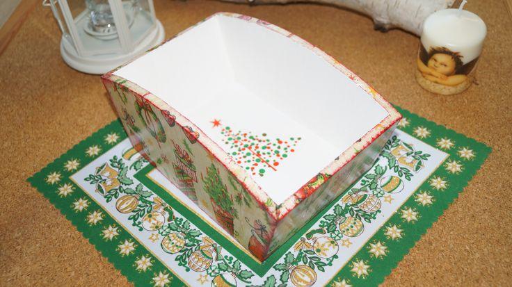 Świąteczny pojemnik na chleb, w sam raz na prezent!