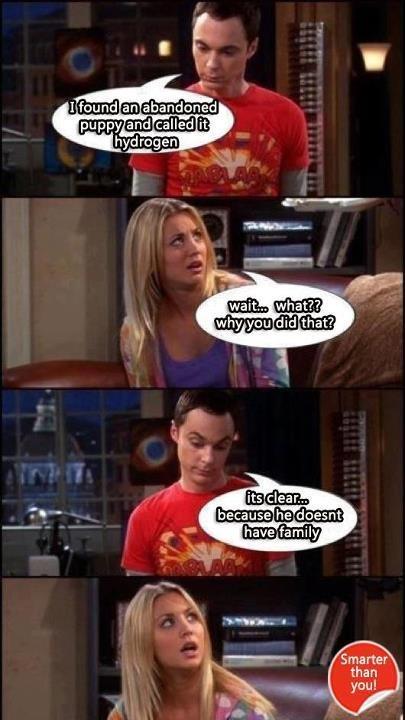 Sheldon Cooper-ism