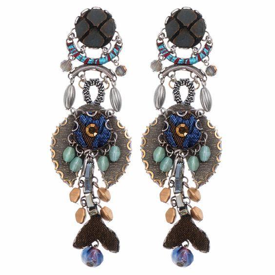 Ayalabar - Silent Pond Coltrane Earrings