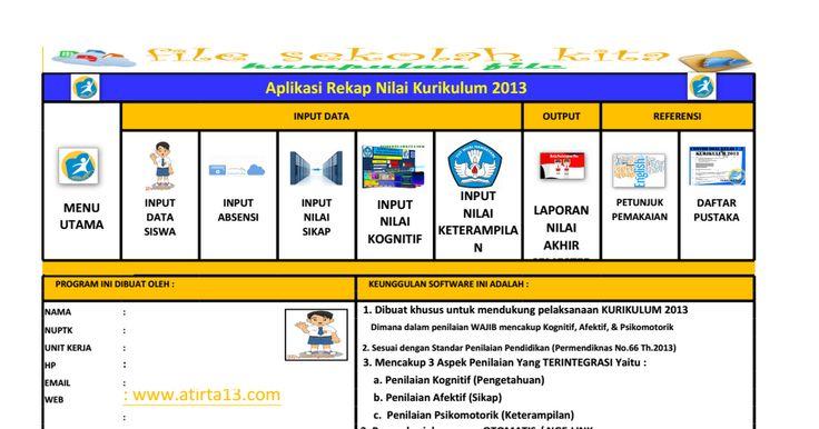Aplikasi Rekap Nilai Kurikulum 2013.xls