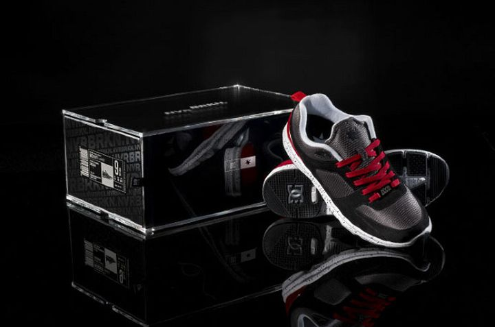 NVRBRKN DC Shoebox packaging branding
