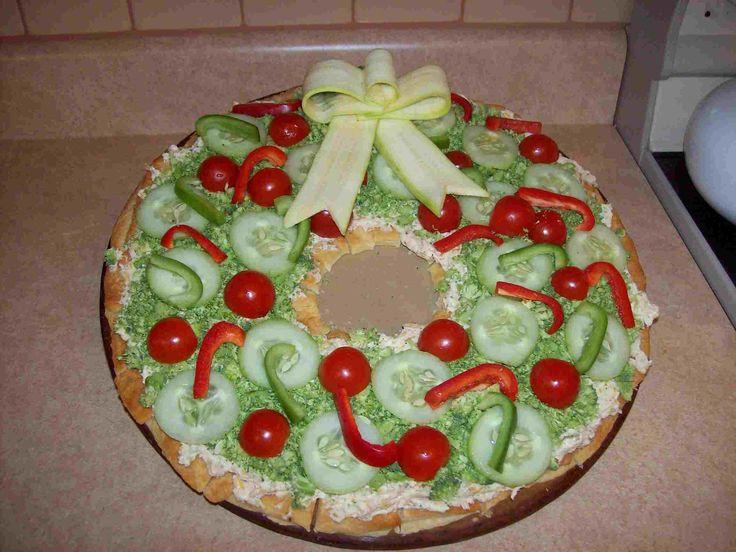 Pizza de navidad - LaCelebracion.com