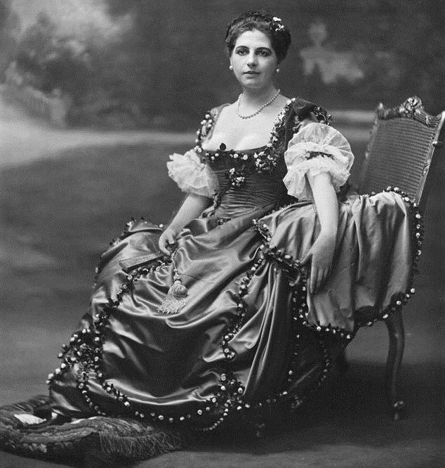Mata Hari in Amsterdam, 1915