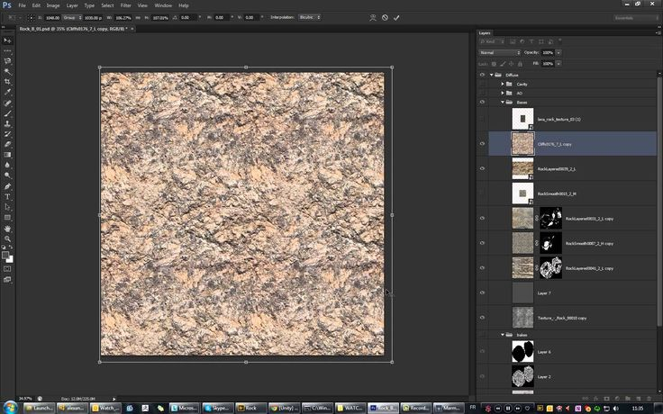 Rock workflow - Part 03 - Texturing