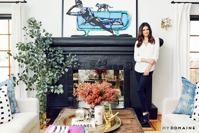 """""""I gravitate toward open, spacious homes,"""" Dobrev tells us. """"Light and bright is my favorite aesthetic. Maintaining the original character and history of the space was..."""