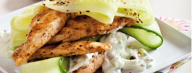 We spice up our chicken with an oriental mix & thank the Americans for inventing the burger!