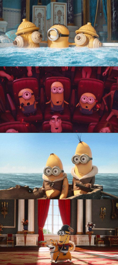 The Minions are here! See them in theaters tomorrow. | Minions Movie | Get tickets now.  -  Pinned 7-13-2015.
