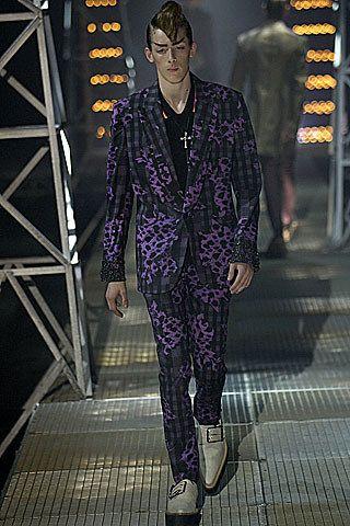 John Galliano Spring 2007 Menswear Fashion Show