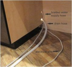 Learn how to install a dishwasher easily. A do it yourself dishwasher installation guide. I can do this!!!