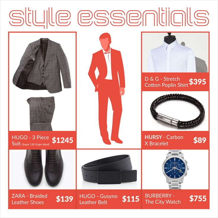 #Style #Essentials - Wardrobe staples every Men should have!  #fashion #style #accessories #Men #wardrobe #Hursy