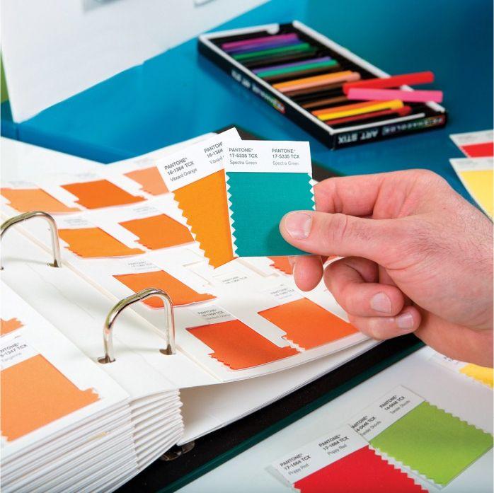 #Pantone #TCX #New #Colors #swatch #cards #design #fashion #home #interiors