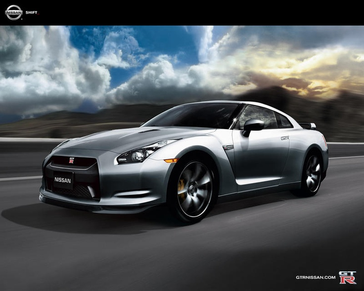 Nissan GT-R -  A supercar for the PlayStation generation.  Muscular and full of tech