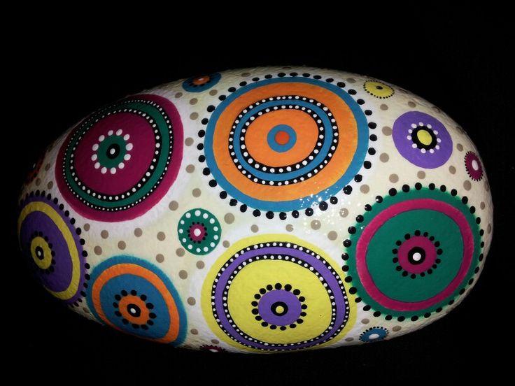 Cokie's Rocks .... hand painted original