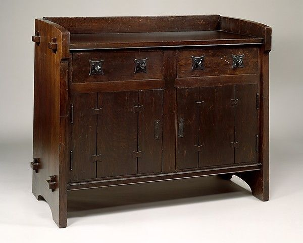 Sideboard Table Designed By Gustav Stickley (American, Osceola, Wisconsin  1942 Syracuse, New York)