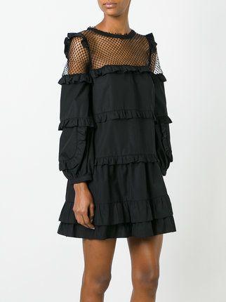 Nº21 платье с рюшами