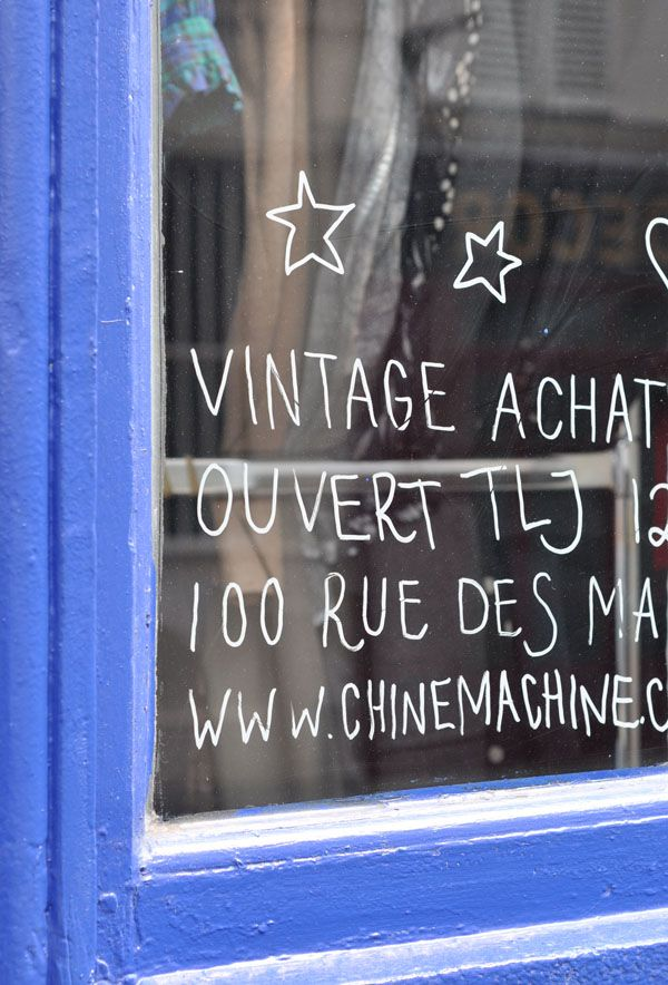 shop window details